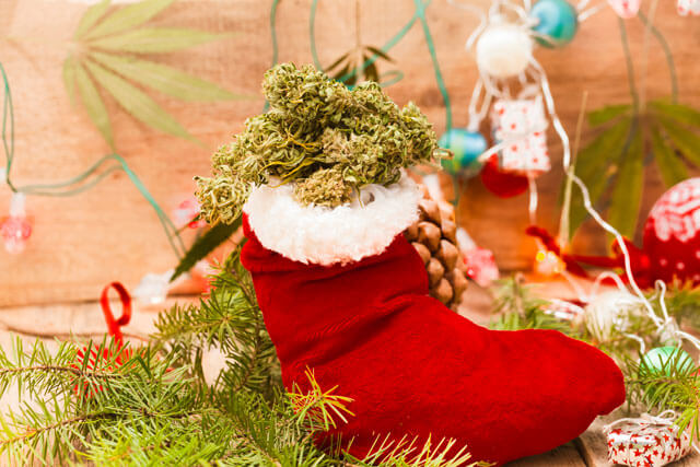 cannabis christmas gift