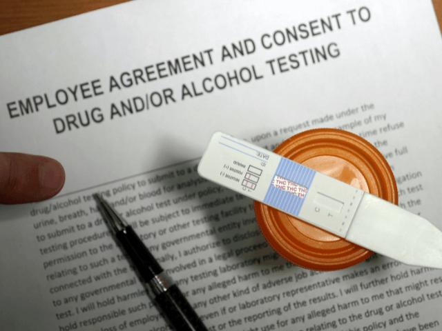 thc drug testing form